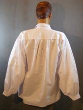 chemise blanche style d'époque