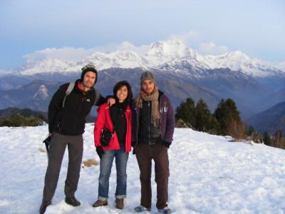 vincent, muriel, sundip au nepal