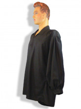 chemise noire Dali