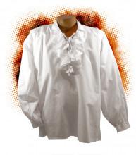 Chemise à jabot Cyrano