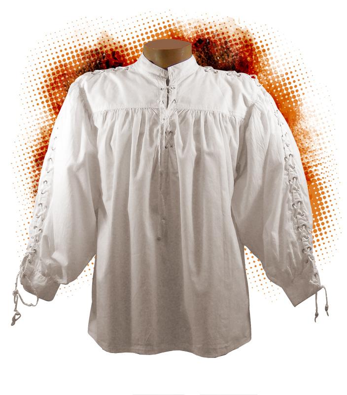 Un cavalier en chemise blanche - Chemise blanche ancienne et d époque 2731dc1982e