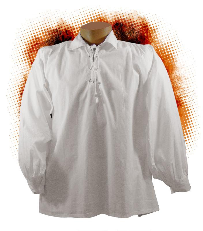 Nouvelles Arrivées 9741b 00f84 chemise de peintre - Chemise blanche ancienne et d'époque