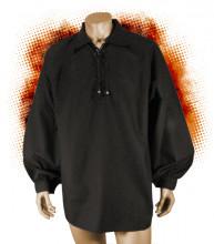 Chemise noire Athos